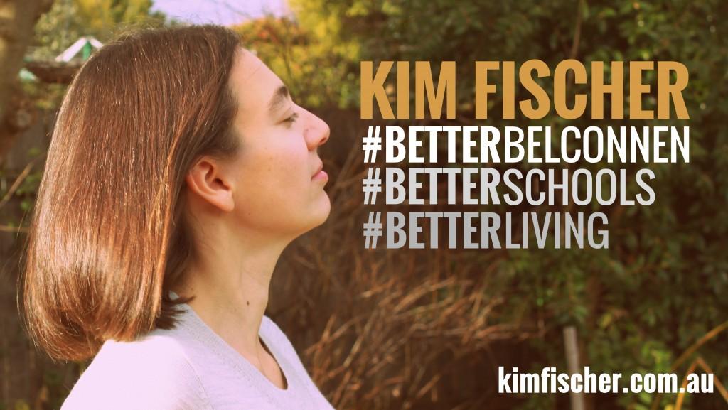 Better Belconnen. Kim Fischer
